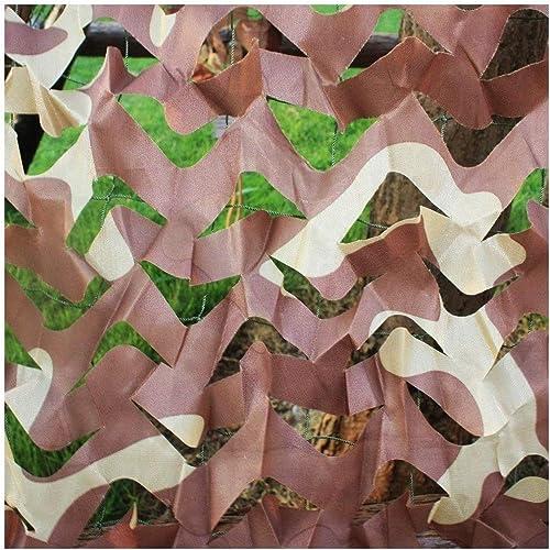 BEAUTY-Filet de camouflage Filet De Camouflage Maille De Prougeection Solaire Camping Auvents Tissu Oxford Les Tentes Voiture Couverte Tir En Extérieur Décoration Cachée (Taille   5x8M16.4x26.2ft))