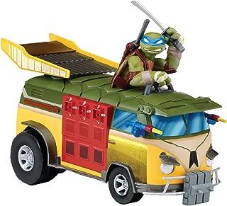 Nickelodeon Teenage Mutant Ninja Turtles T-Machines Leonardo Auto Tuner Party Van Vehicle with Sound