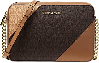 6639d2294ef35c Michael Kors Tricolor Signature East West Crossbody
