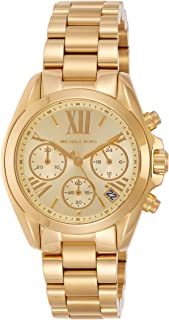 Michael Kors Bradshaw Women's Gold Dial Stainless Steel Watch - MK5798