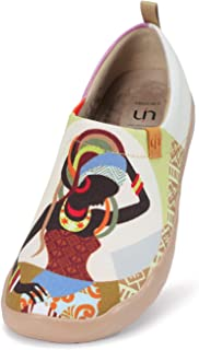 Women's Painted Canvas Fashion Slip-on Travel Shoes Wandering Girl