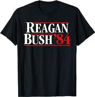 Vintage Reagan Bush 84 Shirt - 1984 Presidential Election