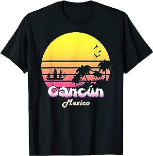Cancun Mexico Tropical Vacation Souvenir Summer Gift Tshirt