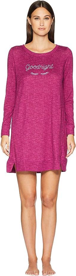 Cozy Knit Sleepshirt