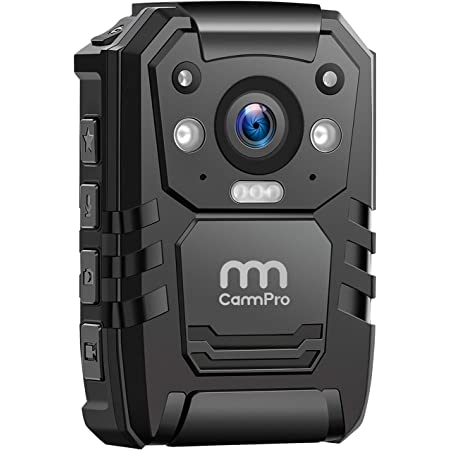 CammPro I826 1296P HD Police Body Camera,64G Memory,Waterproof Body Worn Camera,Premium Portable Body Camera with Audio Recording Wearable,Night Vision,GPS for Law Enforcement