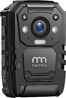 1296P HD Police Body Camera,64G Memory,CammPro Premium Portable Body Camera,Waterproof Body-Worn Camera with 2 Inch Displa...