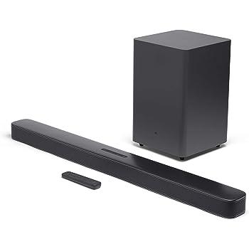 """JBL Bar 2.1 - Deep Bass Soundbar with 6.5"""" Wireless Subwoofer (2019 Model)"""