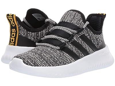 adidas Kids Kaptur (Little Kid/Big Kid) (Grey Six/Core Black/Raw White) Kids Shoes