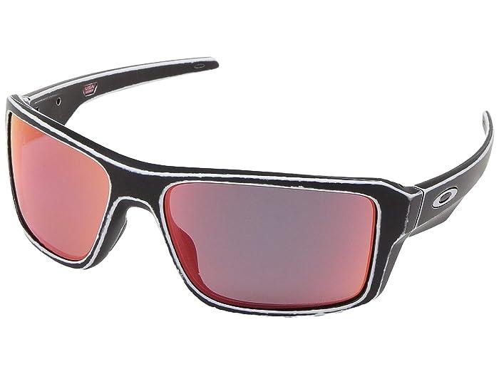 Oakley Double Edge (Raceworn White) Sport Sunglasses