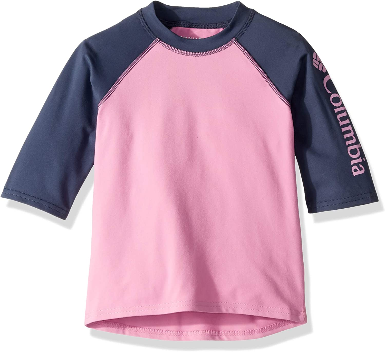 Columbia Girls' Sandy ShoresShort Sleeve Sunguard: Clothing