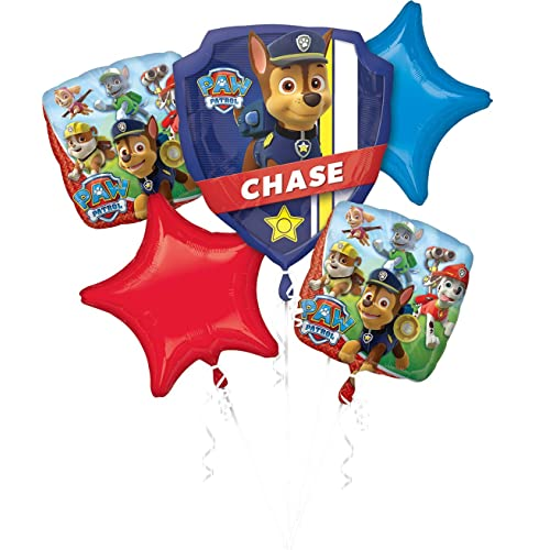 Amscan International 3272301 Paw Patrol Foil Balloon Bouquet