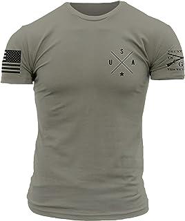 Grunt Style Basic Simple USA - Men's T-Shirt