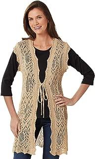 Sleeveless Crochet Vest