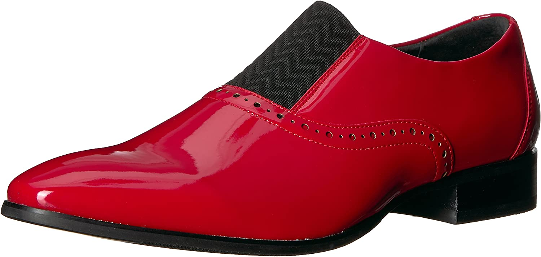 Stacy Adams Mens Vale Plain Toe Slip-on Loafer