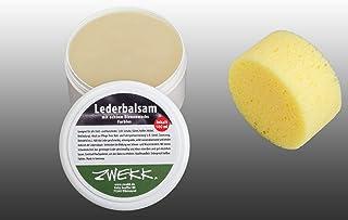 ZWEKK ZWEKK© Bienenwachs-Lederbalsam -farblos - 180 ml incl. Schwamm