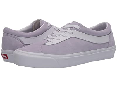 Vans Bold Ni ((Suede) Lavender Blue/True White) Athletic Shoes