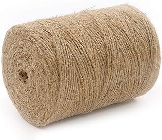 Seil-tech Jute Schnur Jutegarn Natürlich ungefärbt Natur Braun Verpackung Dekorativ Dekokordel Kordel Bastelschnur Floristik Geschenke - 2mm, 1000m, 2kg