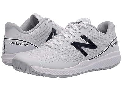 New Balance 796v2 (White/Navy) Women