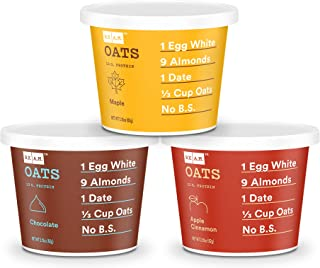 RXBAR, RX A.M. Oats, Variety Pack, Gluten Free Oatmeal Cups, 2.18 Ounce, Pack of 9