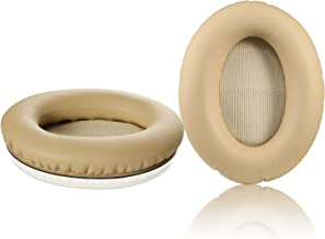 QC15 Replacement Ear Pads Kit, JARMOR Ear Cushion for Bose QuietComfort 2, Quiet Comfort 15, QC 25, QuietComfort 35, Ae2, Ae2i, Ae2w, Sound True, Sound Link (Around-Ear Only) Headphones (Khaki)