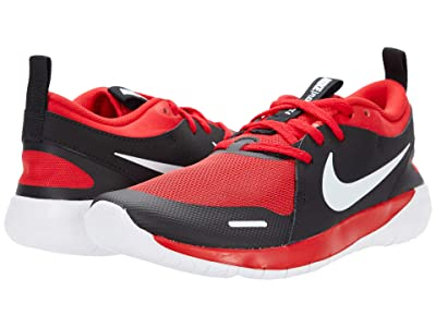Nike Kids Flex Contact 4 (Big Kid) (University Red/White/Black) Kid