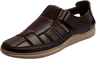 FAUSTO Men's PU Outdoor Floaters and Sandals