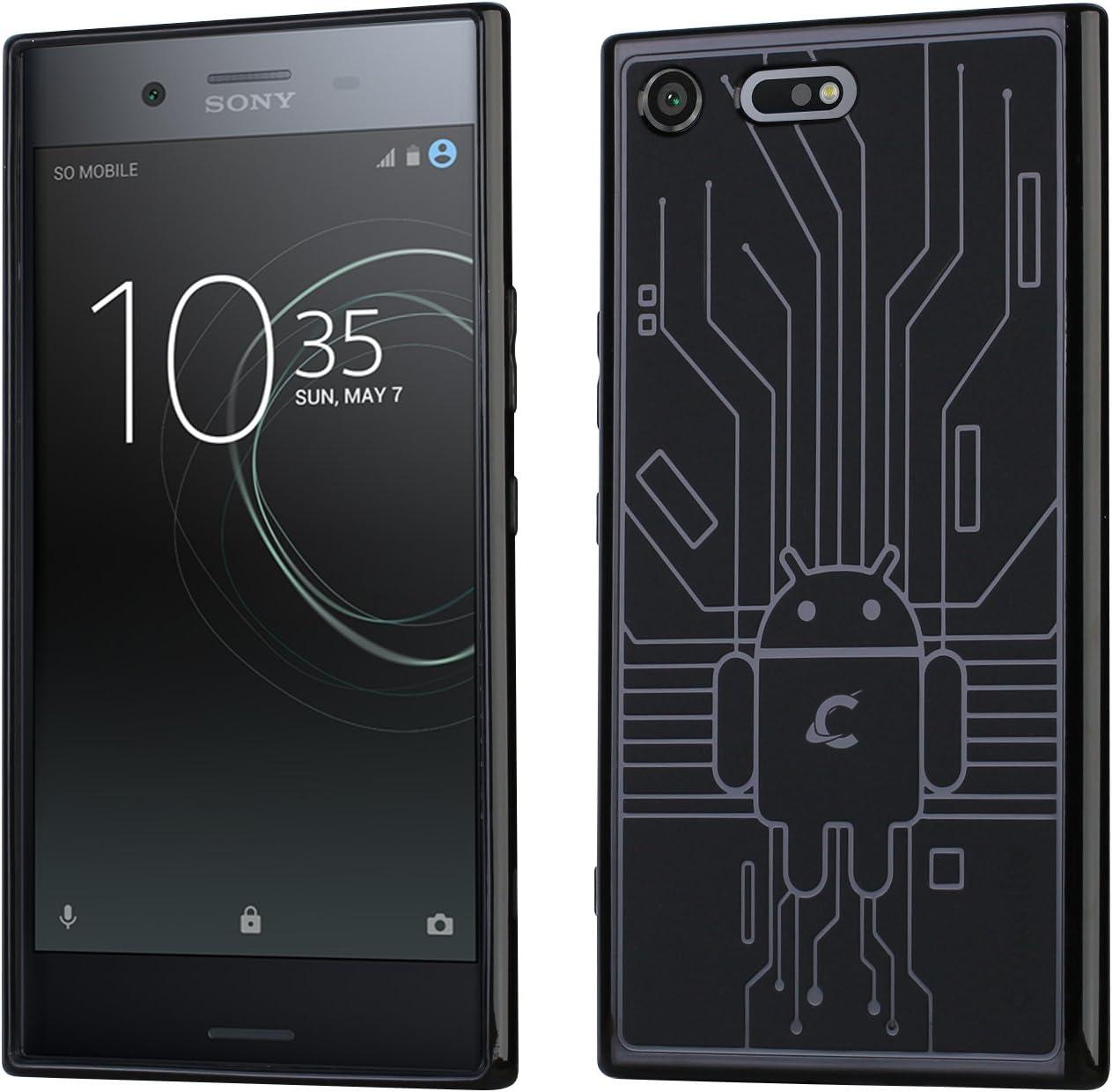 Cruzerlite Cell Phone Case for Sony Xperia XZ Premium - Black