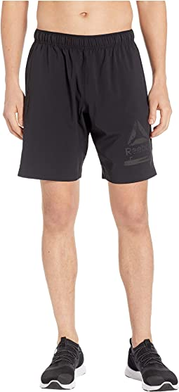 Workout Ready Graphic Woven Shorts