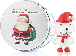 Cute Dog Puppy 16G USB Flash Drive Memory Stick Data Storage Device & Metal Box Packing Novelty Present