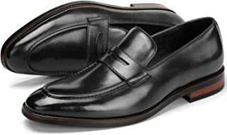 Sponsored Ad - LOS CHOMO Men's Slip on Dress Shoes for Men Leather Loafer