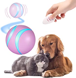 $26 » Sponsored Ad - Mould King Wicked Ball, 100% Automatic and Interactive Ball to Keep Your Dogs/Cats Company All Day, Your Pe...