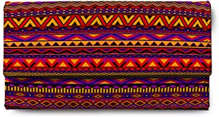ShopMantra Multicolored Canvas women's Clutch (LW00000285)