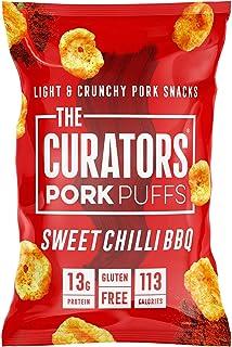 Curators Sweet Chili BBQ Pork Puffs, Sweet Chili BBQ, 22 g