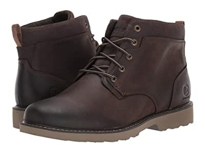 Dunham Jake Waterproof Plain Toe Boot (Brown) Men