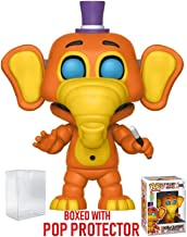 Funko Pop! Games: Five Nights at Freddy's Pizza Simulator - Orville Elephant Vinyl Figure (Bundled with Pop Box Protector Case)