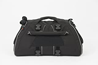 Petego Jet Set-Black Forma Frame Pet Carrier, Black, Medium