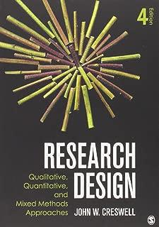 Research Design: Qualitative, Quantitative and Mixed Methods Approaches