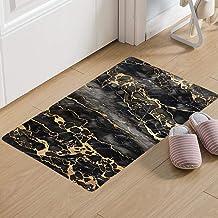 ESUPPORT Marble Texture Welcome Doormat 19.6 x 31.4 Non Slip Rubber Floor Mats Rug Outdoor/Indoor/Front Entrance, Style B