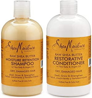 Shea Moisture Shampoo & Conditioner for All Hairs - 473 ml