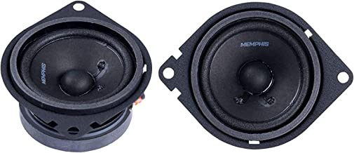 $42 » Memphis Audio PRX27 Power Reference 2.75 Inch 15 Watt RMS 30 Watt Peak Power Car Audio Coaxial Speaker System