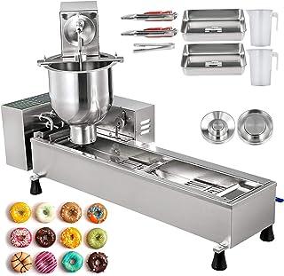VEVOR Machine De Donuts Commerciale 7 L, Machine à Beignet Commerciale en acier inoxydable, Appareil à donuts, Contrôle in...