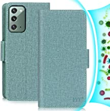 """FYY Case for Samsung Galaxy Note 20 6.7"""", [Anti-Germs Antibacterial Case] [RFID Blocking] PU Leather Wallet Case with [Kic..."""