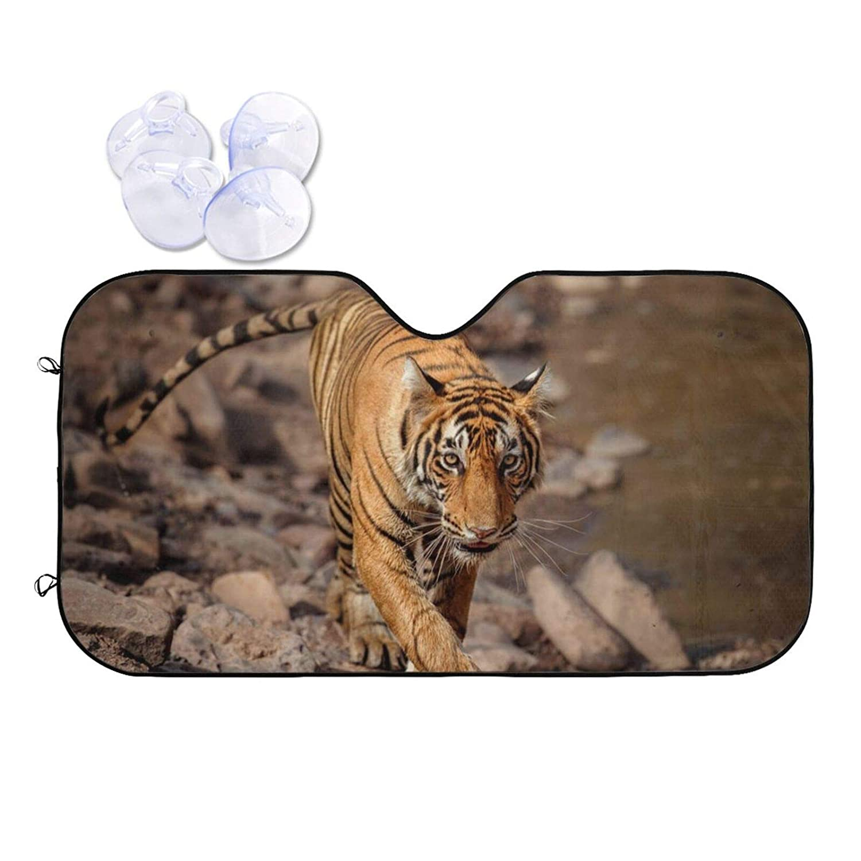 Wildlife Tiger Animal Car Front discount Windshield Uv Shade Sun - Blocks Long-awaited
