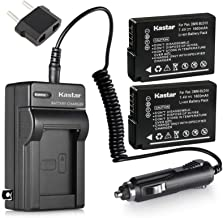 [Fully Decoded] Kastar DMW-BLD10 Battery (2-Pack) and Charger Kit for Panasonic DMW-BLD10, DMW-BLD10E, DMW-BLD10PP, DE-A93...