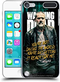 Official AMC The Walking Dead Negan Season 9 Quotes Hard Back Case Compatible for iPod Touch 5G 5th Gen