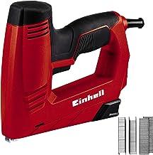 Einhell Elektrische Nietmachine TC-EN 20 e (voor nietjes type 53, spijkers type 47, elektronische slagkrachtselectie, soft...