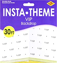 VIP Backdrop Party Accessory (1 count) (1/Pkg)