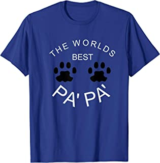 Mens Worlds Best Pa' Pa' Funny Father's day T-Shirt