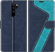 MOBESV Custodia Xiaomi Redmi Note 8 PRO, Cover a Libro Xiaomi Redmi Note 8 PRO, Custodia in Pelle Xiaomi Redmi Note 8 PRO Magnetica Cover per Xiaomi Redmi Note 8 PRO, Elegante Blu