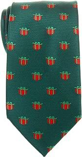 Retreez Christmas Gift Graphic Woven Microfiber Men's Tie - Various Colors